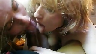 College Students Blowjob Threesome