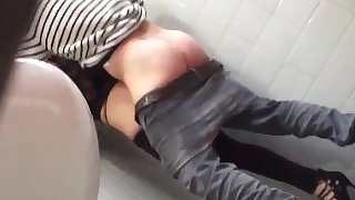 Horny couple quickie caught on spy cam