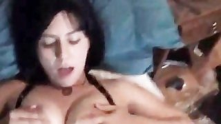 All natural MILF fucked at home